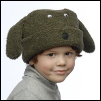 Hunter Green Berber Dog Hat