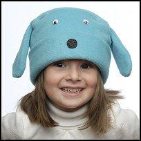Turquoise Dog Hat
