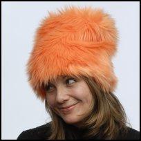 Tall Fun Furries - Bright Orange