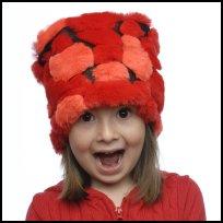 Orange / Red Wild Patch Hat