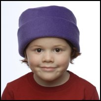 Purple Roll Hat