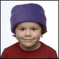 Purple Roll Hat