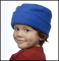 Royal Blue Roll Hat