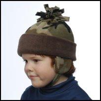 Camo Tassel Hat